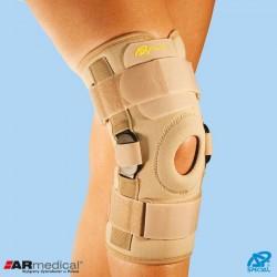 Orteza na kolano z dwuosiowymi szynami bocznymi wciągana SP-A-823