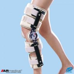 Orteza stawu kolanowego szynowo-opaskowa z zegarami, z regulowaną długością SP-2900