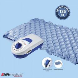 Materac pneumatyczny przeciwodleżynowy bąbelkowy ARmedical z pompą