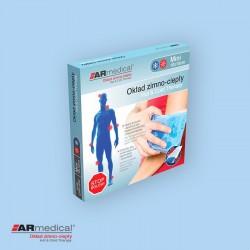 Okład / kompres żelowy zimo-ciepły - Mini, 10x10cm ARmedical