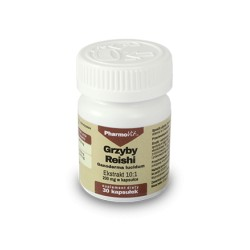 Pharmovit GRZYBY REISHI ekstrakt 10:1 , 200mg, 30 kapsułek