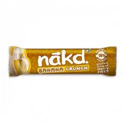 Baton Nākd bananowy z chrupkami 30g z proteinami 18%