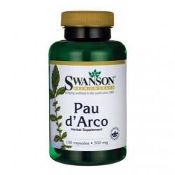 Swanson Pau D'Arco 500mg  x 100 kaps.