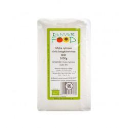 Mąka ryżowa biała bezglutenowa 1 kg Denver Food