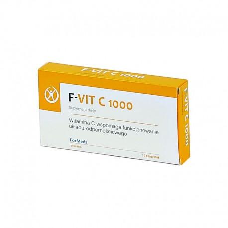 F-VIT C 1000 WITAMINA C  x 10 saszetek