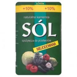 Naturalna kamienna sól spożywcza do przetworów niejodowana 1,1 kg