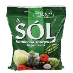 Kłodawska sól kamienna spożywcza niejodowana 3 kg