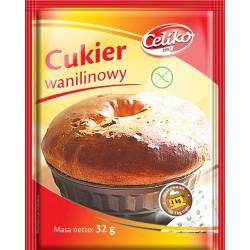 Cukier wanilinowy bezglutenowy Celiko 32g
