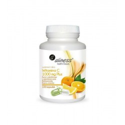 Witamina C 1000 mg Plus 100 kaps. Aliness