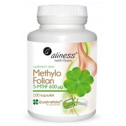 Methylo Folian 5-mthf 600 μg x 100 kaps. VEGE Aliness