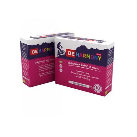 Baton owocowy Malinowy BIO 40g - Be Harmony