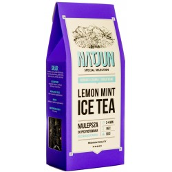 Herbata czarna ''Lemon Mint Ice Tea'' 50g NATJUN