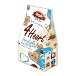 4Heart Przekąska energetyczna bezglutenowa - quinoa, czekolada  100g - Incola