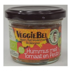 Hummus z pesto i pomidorami BIO 95g - VeggieBel