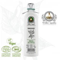 White Agafia - Organiczny Szampon Brzozowy do wszystkich rodzajów włosów -280ml