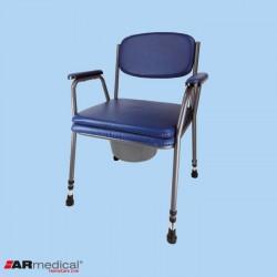 Krzesło toaletowe tapicerowane ARmedical