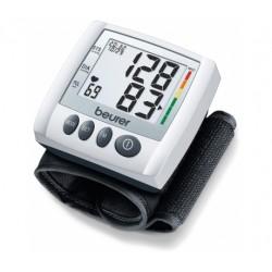 Ciśnieniomierz nadgarstkowy BEURER BC 30 rozpoznający arytmię + termometr FT09 GRATIS !!!