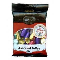 Cukierki o smaku toffi bez dodatku cukru Stockleys 70g