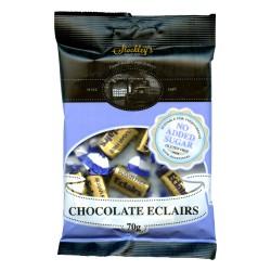 Cukierki o smaku toffi z nadzieniem czekoladowym bez dodatku cukru Stockleys 70g