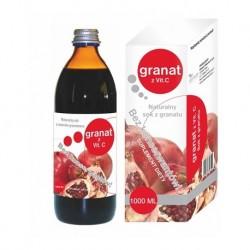 Sok z granatu naturalny - Granat z witaminą C 500 ml Donum Naturea