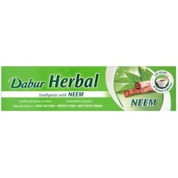 DABUR HERBAL Ziołowa Pasta do Zębów NEEM 100ml (bez fluoru i parabenu)