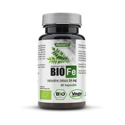 Pharmovit Bio Fe Naturalne żelazo 60 kapsułek