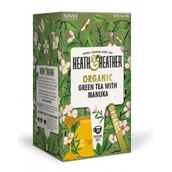 Herbata ekologiczna Manuka Heath & Heather 40g (20 saszetek)