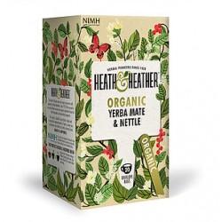 Herbata ekologiczna Yerba Mate& Nettle Heath & Heather 20g (20 saszetek)