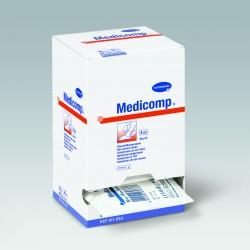 Kompresy z włókniny 4 warstwowe niejałowe 10x10 cm 100szt Medicomp®