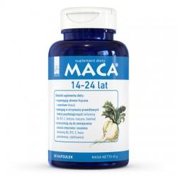 Maca® 14-24 lat - suplement diety 80 kapsułek A-Z Medica