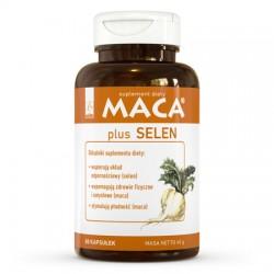Maca® plus Selen - suplement diety 80 kapsułek A-Z Medica