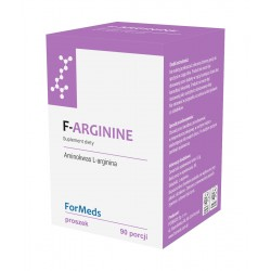 F-ARGININE L-arginina 90 porcji FORMEDS