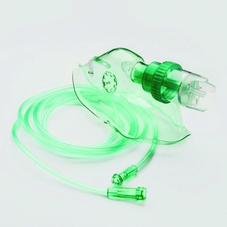 Zestaw do inhalacji dla dorosłych (maska tlenowa z nebulizatorem) Rozmiar L