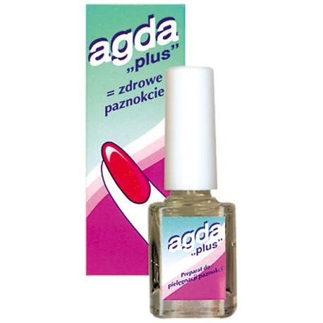 """Agda """"plus"""" odżywka do paznokci  10ml Sulphur"""