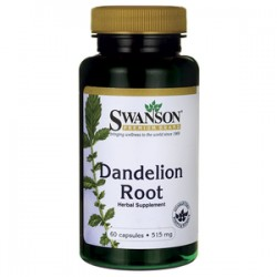 Swanson Dandelion mniszek lekarski 60 kaps.