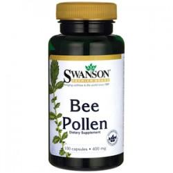 Swanson Bee Pollen (pyłek pszczeli) 400mg 100 kaps.