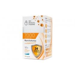 LICUR 7000 + Witamina D Płynna kurkumina z wit.D x 30 kapsułek Bio Medical Pharma
