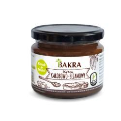 Krem karobowo-sezamowy 300 g  Bakra