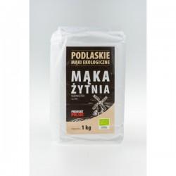 Mąka żytnia razowa typ 2000 BIO 1kg