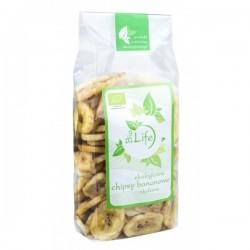 Chipsy bananowe BIO 150g - BioLife