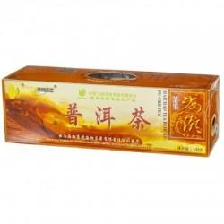 Herbata czerwona Pu-erh prasowana w kostkach - 125 g