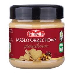 Pasta orzechowa Piernikowa 185g  Primavika
