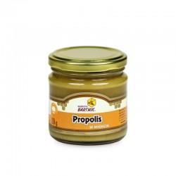 Miód z propolisem - 250 g, propolis w miodzie