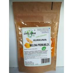 Kurkuma mielona PREMIUM 3,2%  40g  SPICE FARM