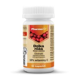 Pharmovit Dzika róża ekstrakt standaryzowany 10% witaminy C x 60 kapsułek