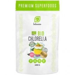 Chlorella BIO proszek 100g INTENSON