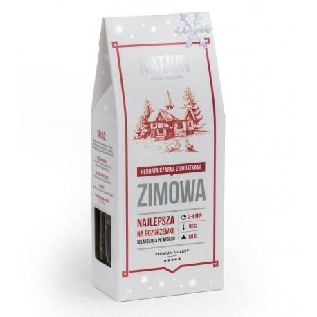 Herbata czarna ZIMOWA 80g NATJUN