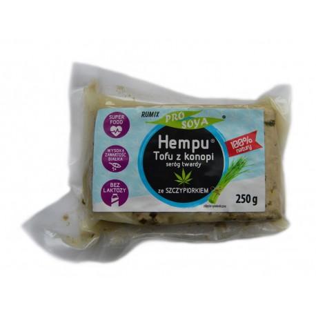 Hempu tofu z konopi ze szczypiorkiem 250g- Prosoya