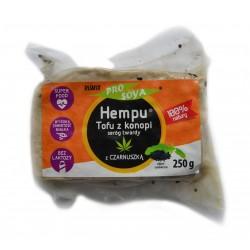 Hempu tofu z konopi z czarnuszką 250g - Prosoya