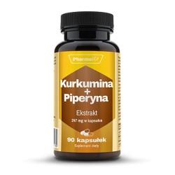 Pharmovit Kurkumina + Piperyna ekstrakt 247mg x 90 kaps.